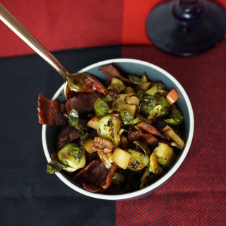 Holiday Bacon Brussels Sprouts