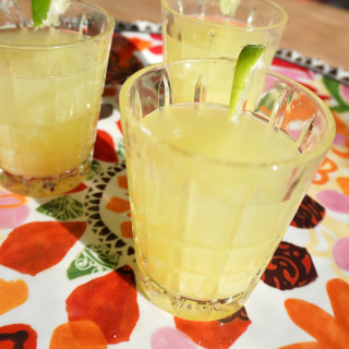 Spicy Pineapple Skinny Margs