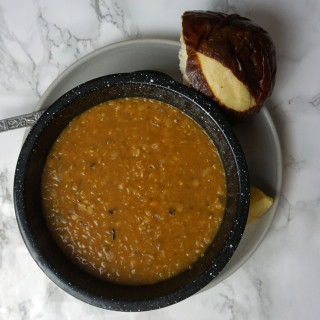 African Spiced Red Lentil Stew