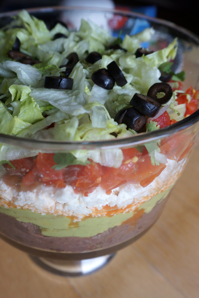 Hateful Eight Layer Dip
