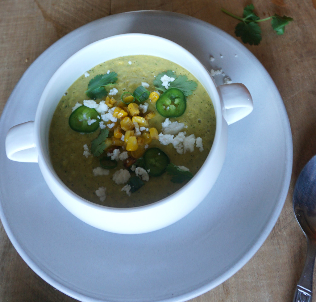 Avocado Corn Soup