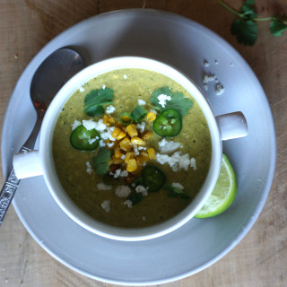 Avocado Corn Soup