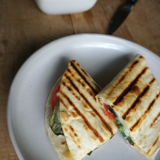 Caprese Chicken Quesadillas