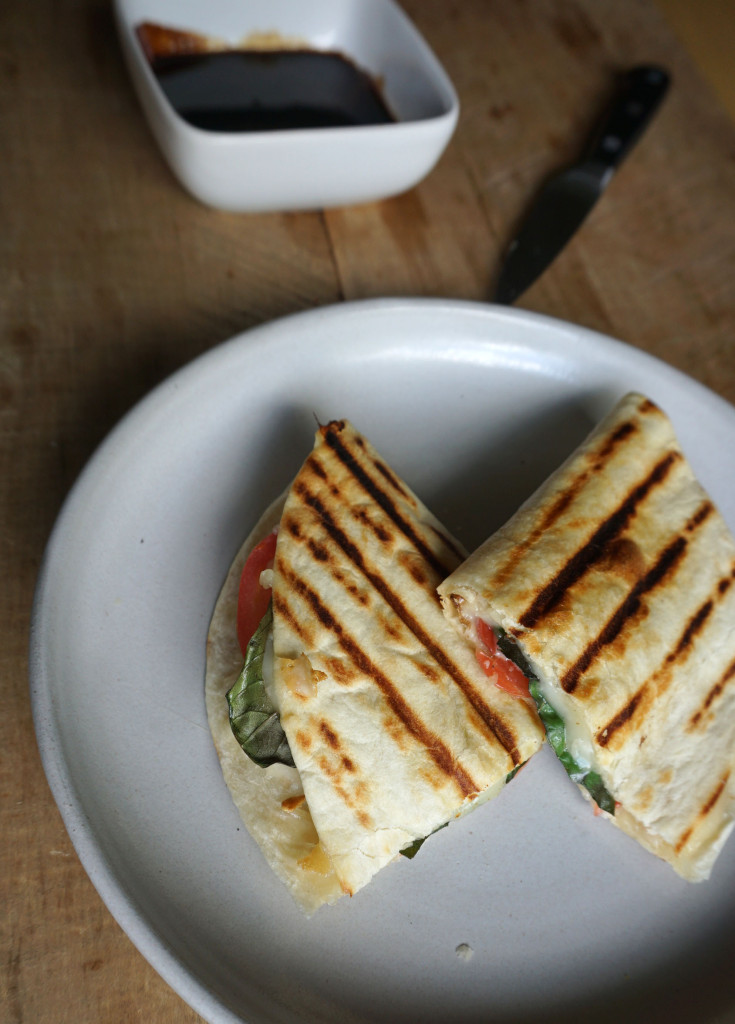 Caprese Chicken Quesadilla